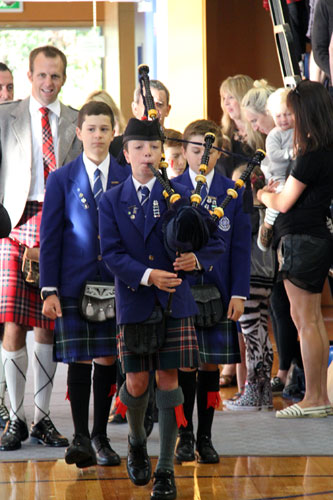 St Kentigern College Pipe Band